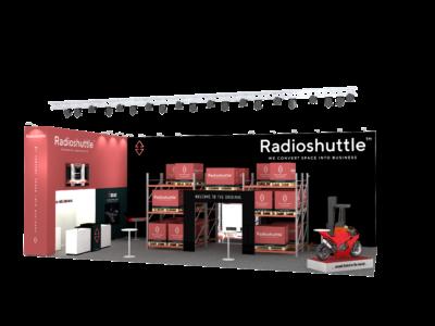 Radioshuttle™ vyvolal pozornost na veletrhu 2 Logimat