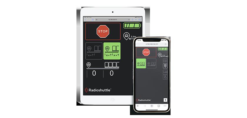Radioshuttle™ Connect naučí podvozek řídit mobilem